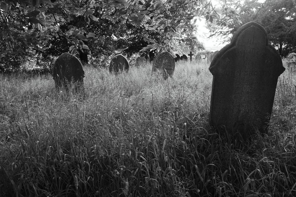 abandoned gravestones shardlow church