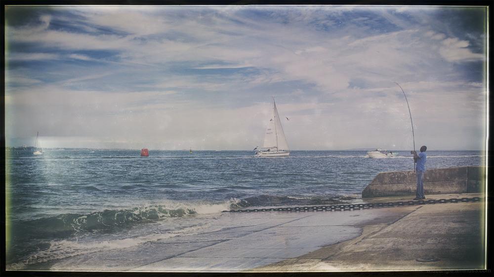fishing sea boats sailing reels