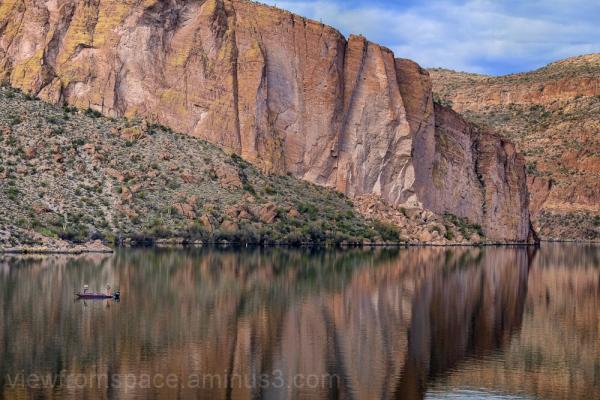fishing canyon lake arizona recreation angling