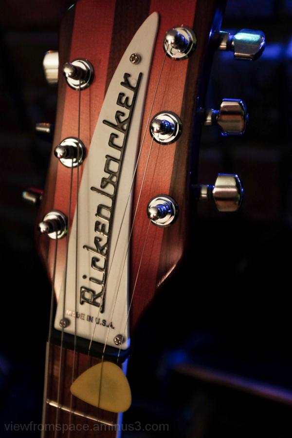 rickenbacker fireglow headstock red