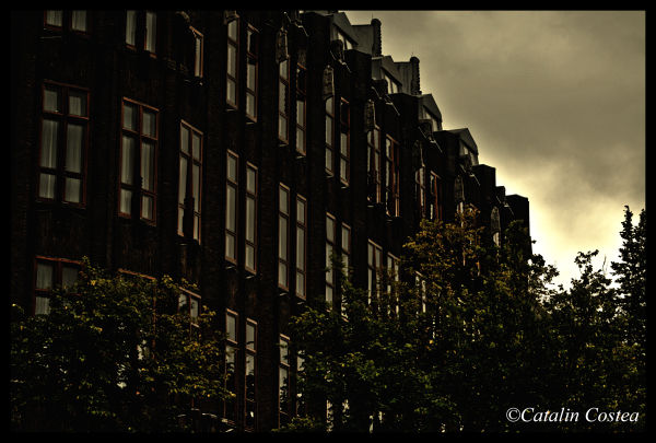 On the streets of Amsterdam - Building