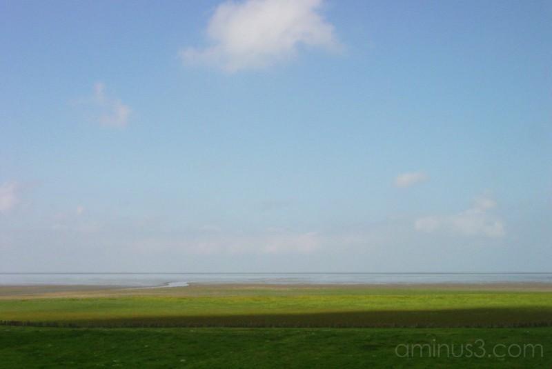 """Waddenzee near """"Zwarte Haan"""""""
