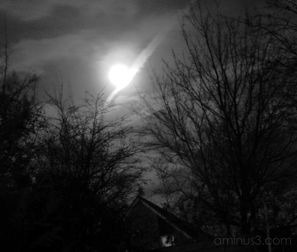 House in Moonlight - What's down? 3 of 6