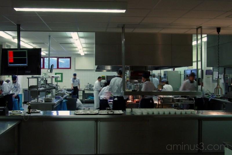Hotel School #3: School Kitchen