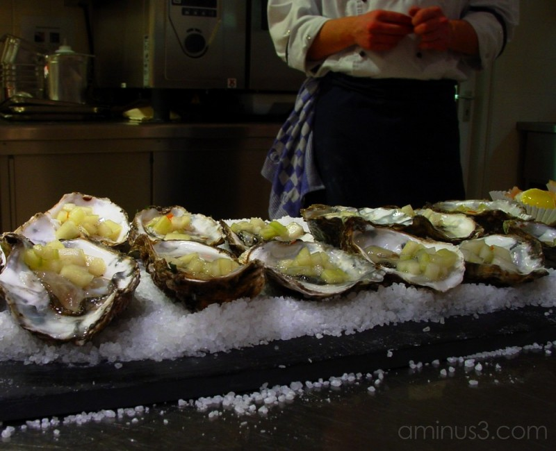 Hotel School #4: Oysters Ready to be Served