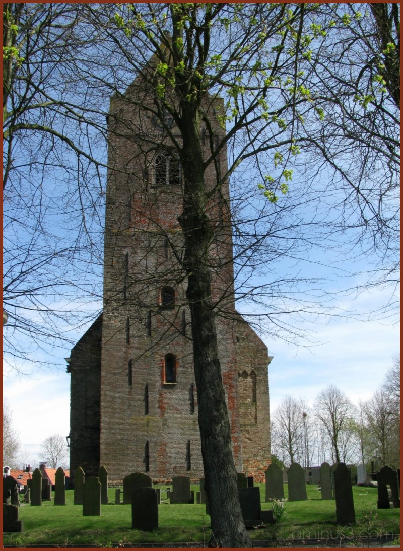 Saddleroof church in Âldtsjerk