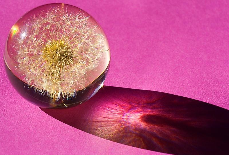 Decorative glass ball
