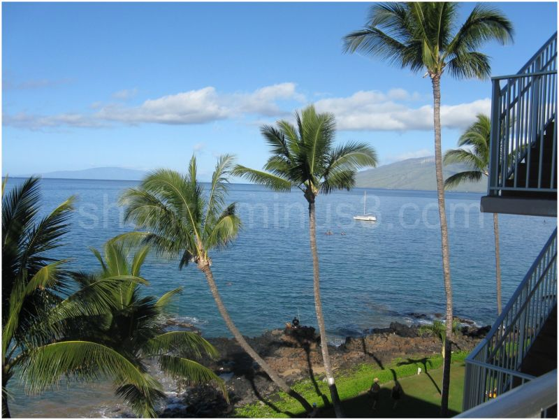 From Kamole beach, Maui