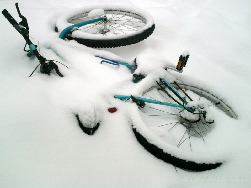 Buried Bike