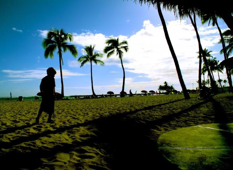 Leaving Honolulu