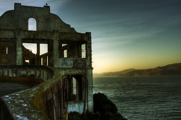 A view from Alcatraz