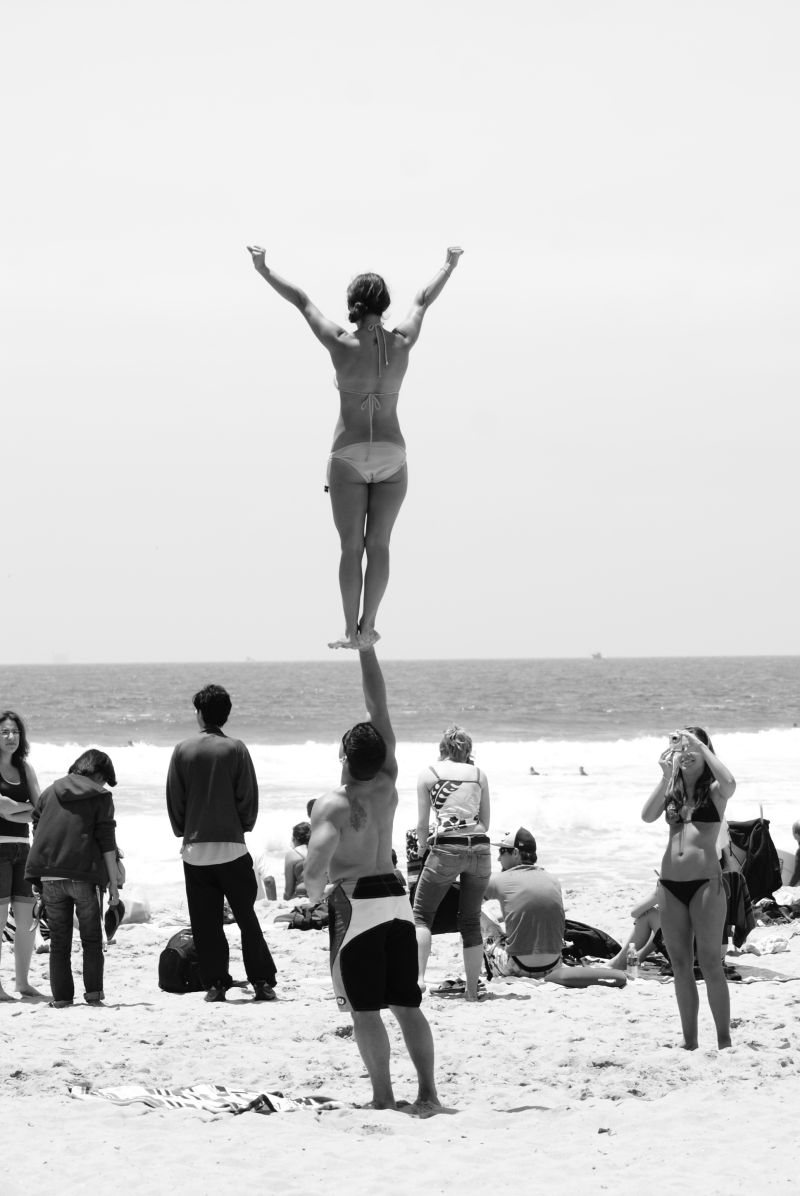 beach cheer
