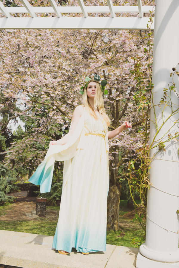goddess in the garden