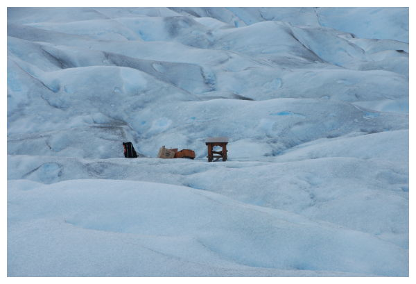 The view from Perito Moreno glacier, Patagonia