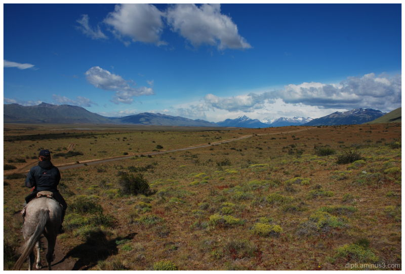 elcalafate, patagonia, argentina