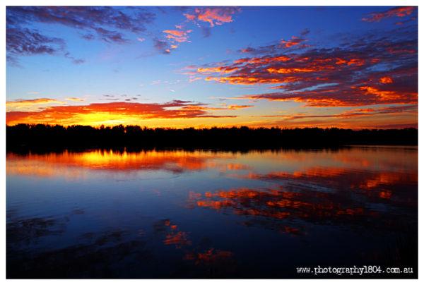 Sunrise at Wellington