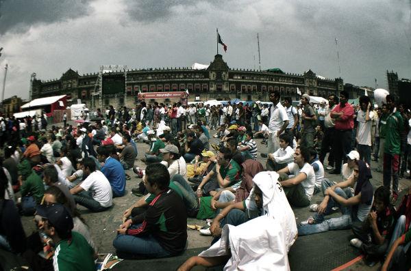 la copa del mundo en  la Ciudad de México
