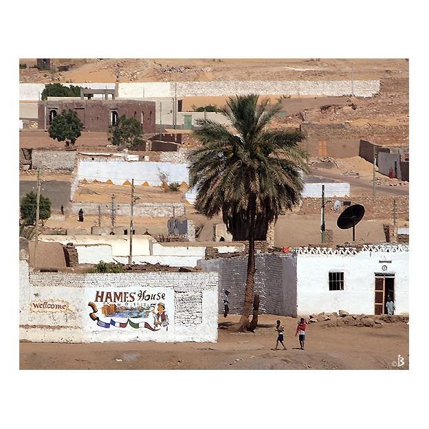 Village du bord du Nil