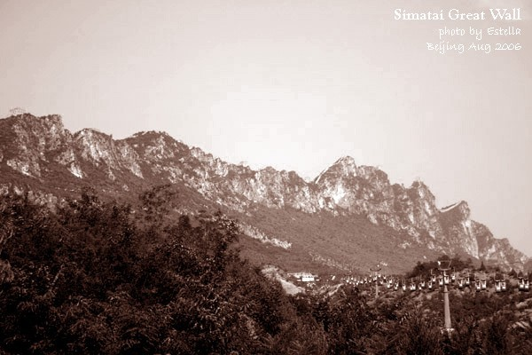 Simatai Great Wall 01