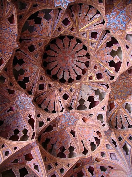 Music room, Alighapoo palace, Isfahan
