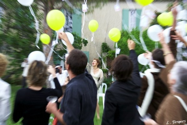 wedding picture, zooming