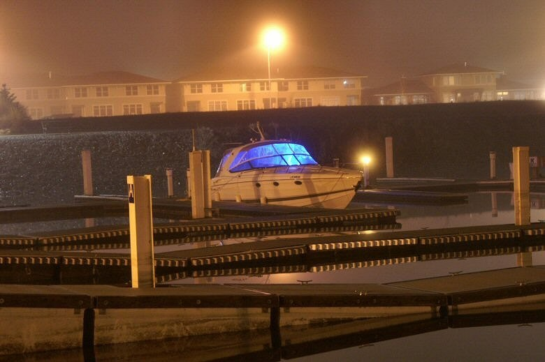 Illuminated boat