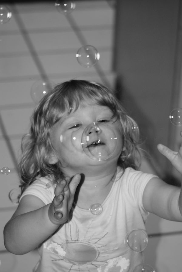 bubble face