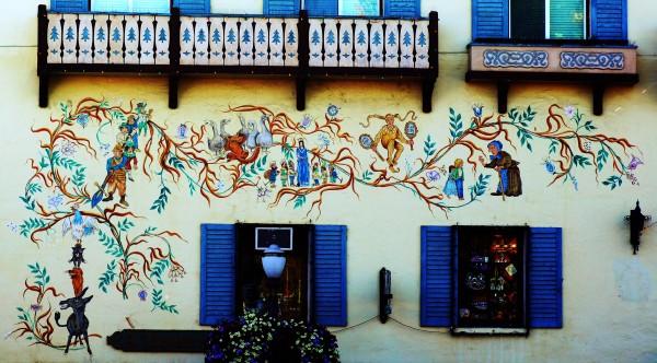 bavarian mural
