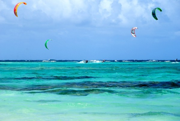 Anegada, BVI - Four Kites