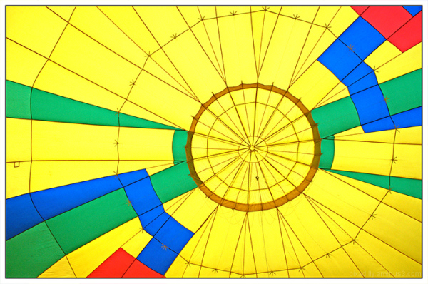 Five Days of Color:  Inside a Yellow Balloon