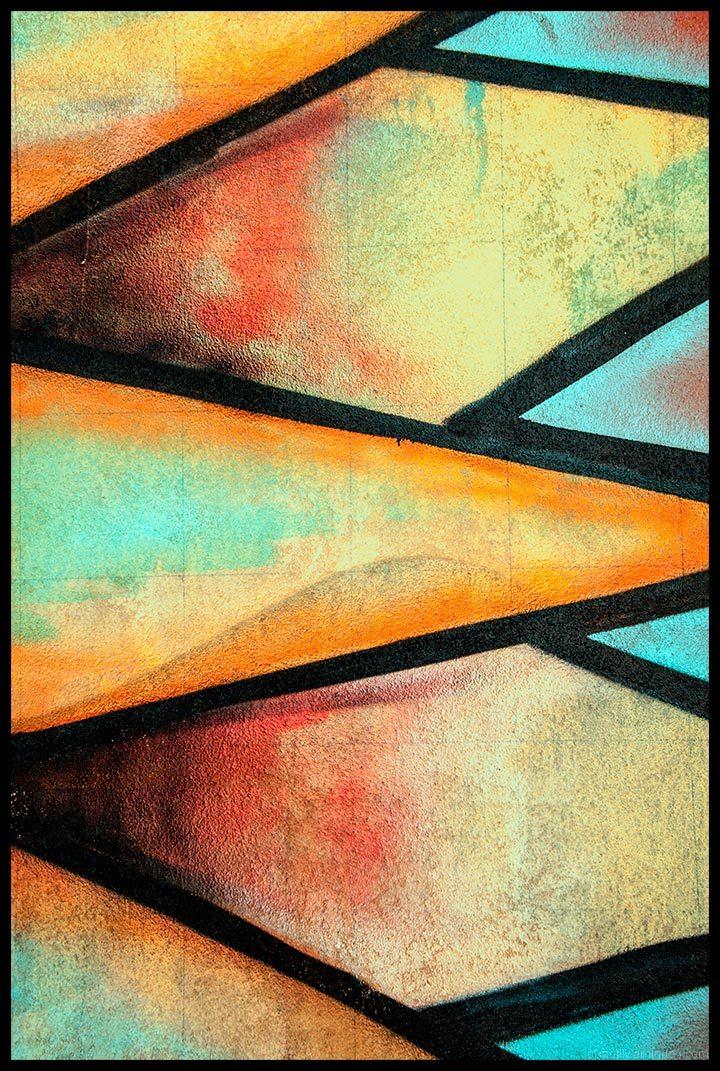 Five Days of Color:  Diamond Wall