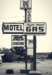 Cafe Motel Gas