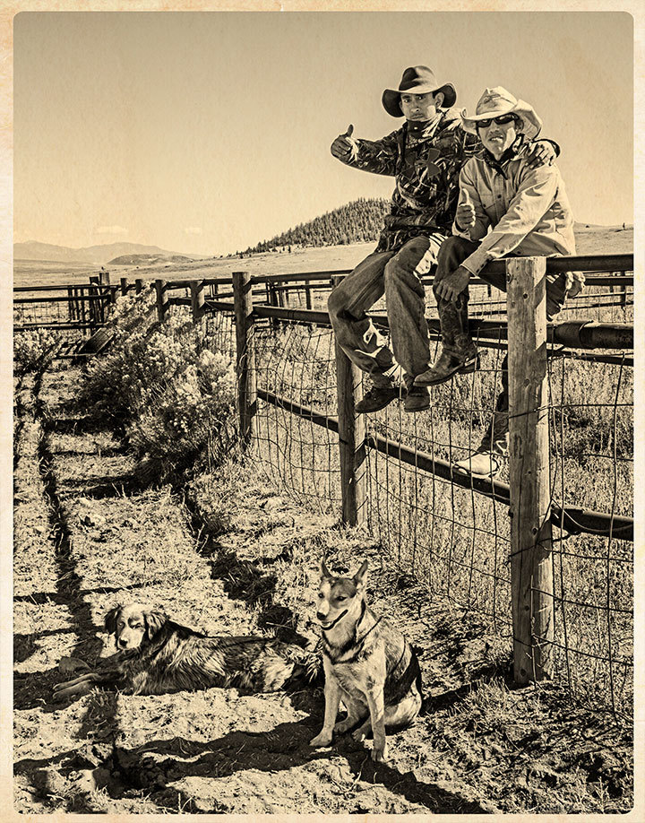 Cowpokes and their Dogs