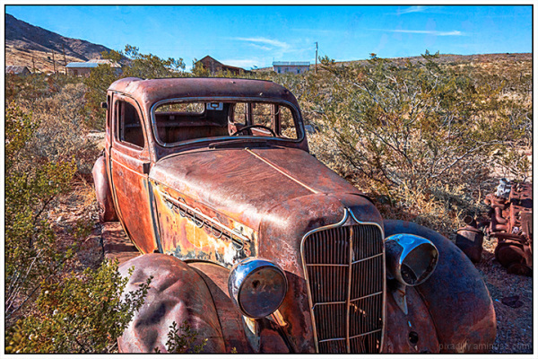 Old Cars:  Lake Valley Ghost Town