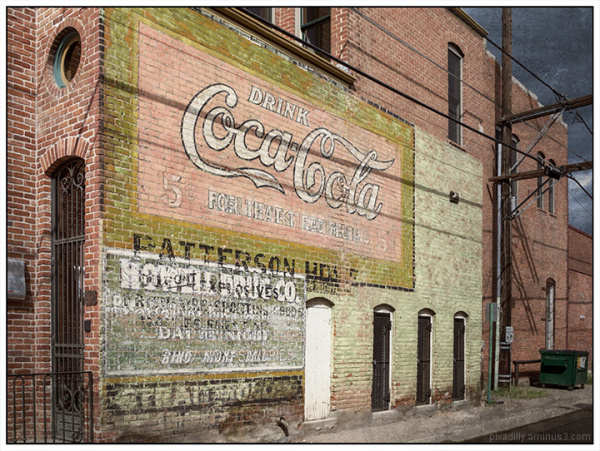 Coca Cola Ghost Sign