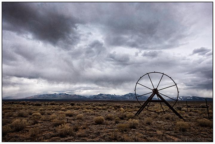 Wheel on the Mesa
