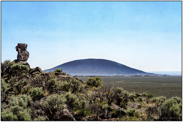 Ute Mountain from Melby Ranch