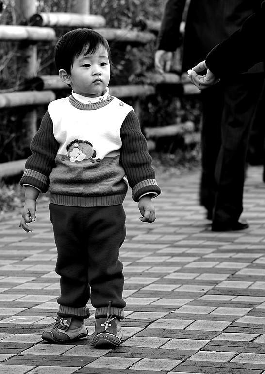 Boy at Hanuel Park