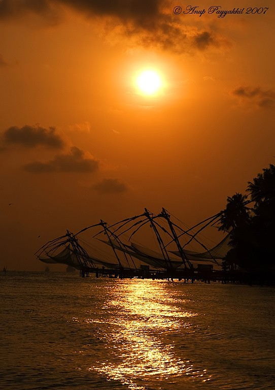 Sunset at Fort Cochin