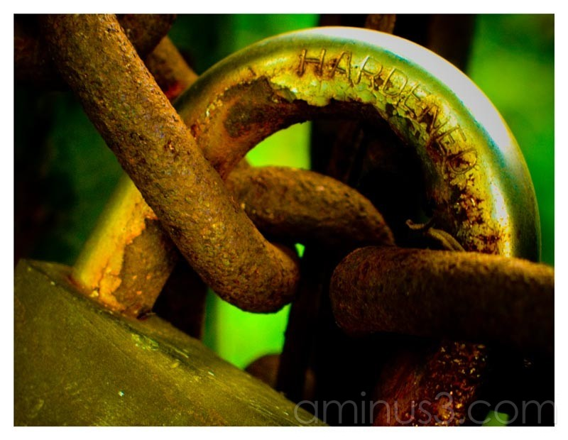 Truth – Locked and Hardened Minds, Rusting Away…
