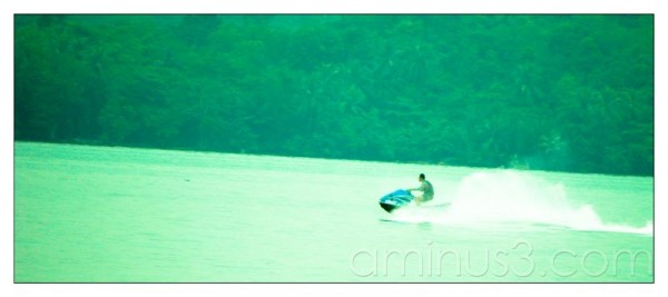 Life – No Paddling Alone In The Water Just Jet Ski