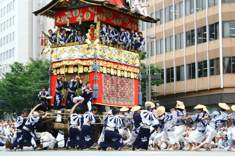 Gion Matsuri - Yamaboko Junko