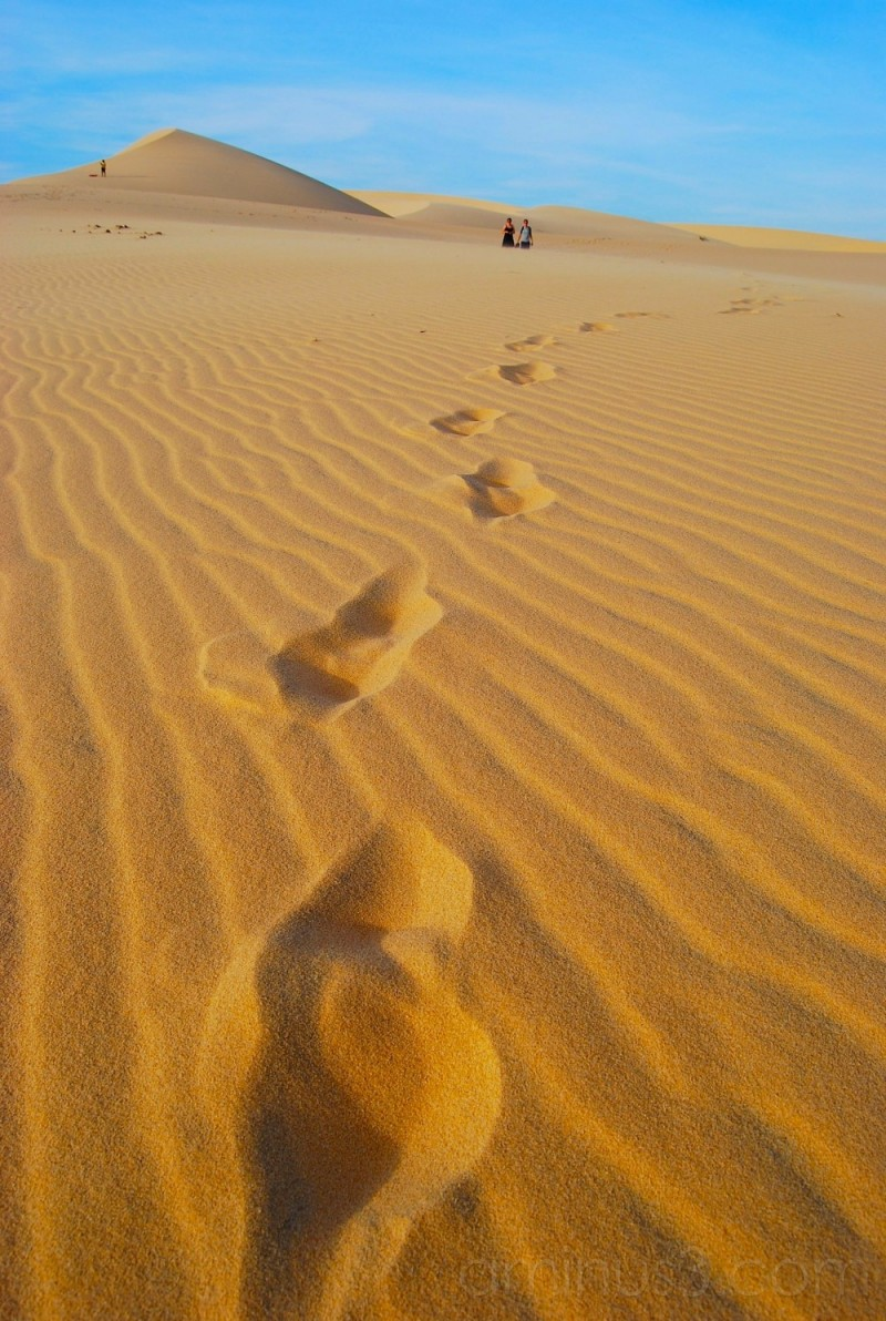 Someone else's footprints