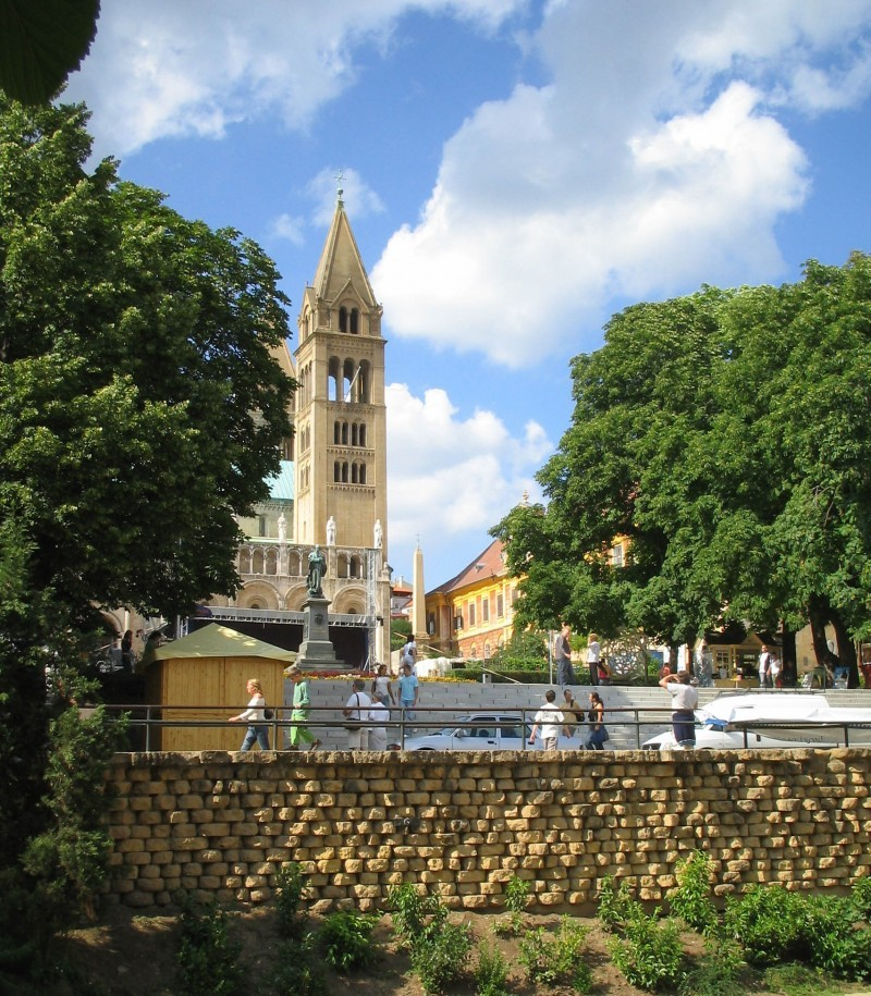 Pécs Pecs Hungary Cathedral