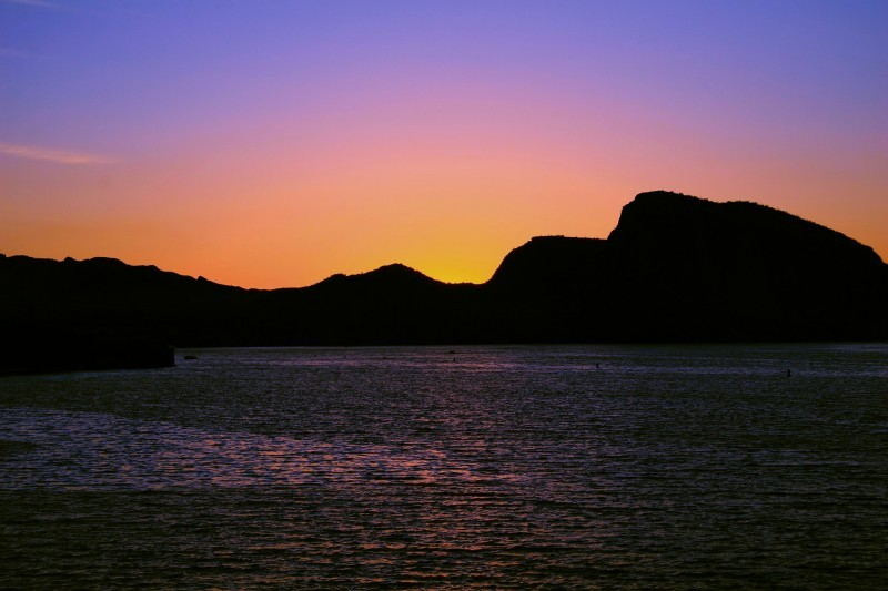 Apache trail sunset