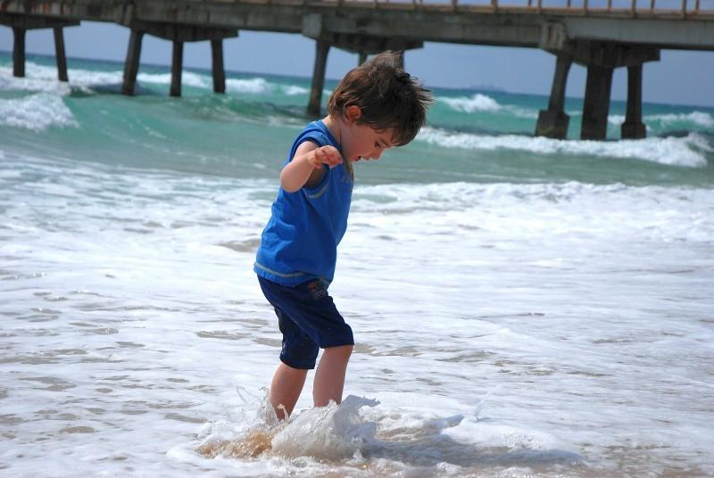 Zamiel apprivoise l'océan.