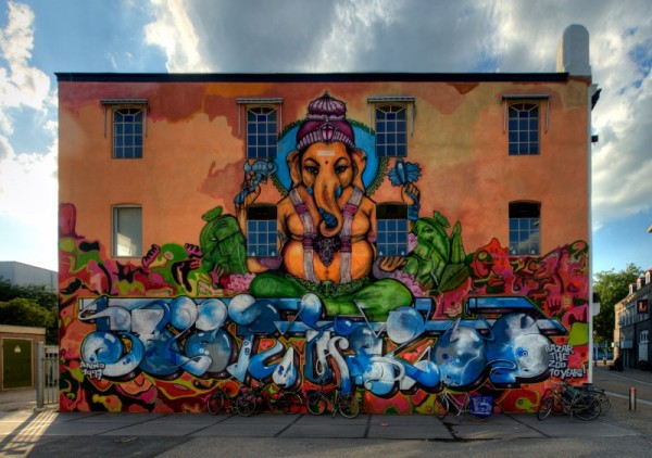 Fresque Ganesh Apeldoorn