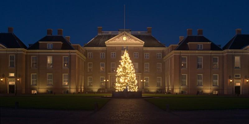 """Kerstboom, """"Paleis Het Loo"""", Apeldoorn"""