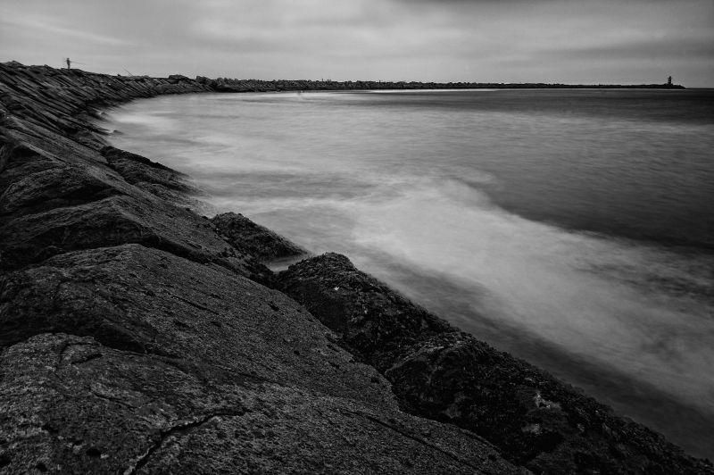 Fishermen's pier, Zuidelijke Havendam, Ijmuiden