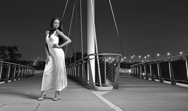 Laura, Nescio-bridge, Amsterdam, Rhine, Elinchrom,